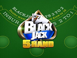 5 Hand Blackjack